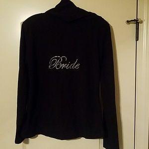 Jackets & Blazers - BRIDE *Bling* Hoodie Black Large